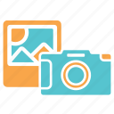 camera, design, photo, photography, picture, stock icon