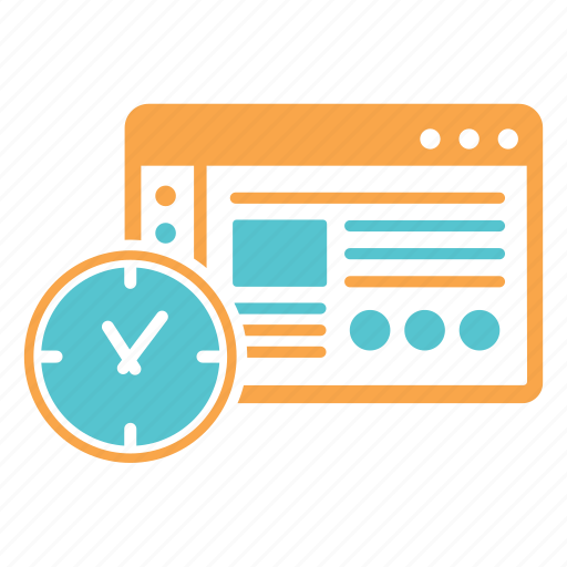 clock, deadline, per hour, time, working, working time icon