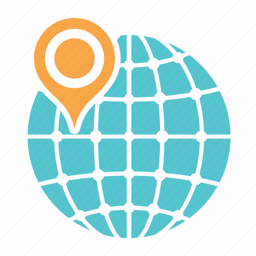address, city, location, map, navigation, state, town icon