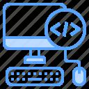 program, code, mouse, keyboard, computer
