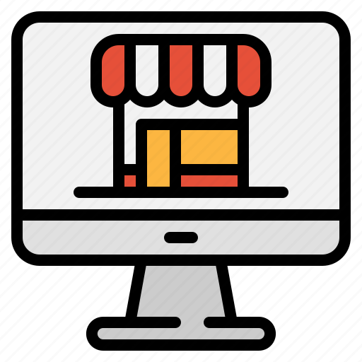 buy, computer, ecommerce, online, sell, shop, store icon