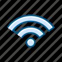 internet, transfer, web, wi-fi icon