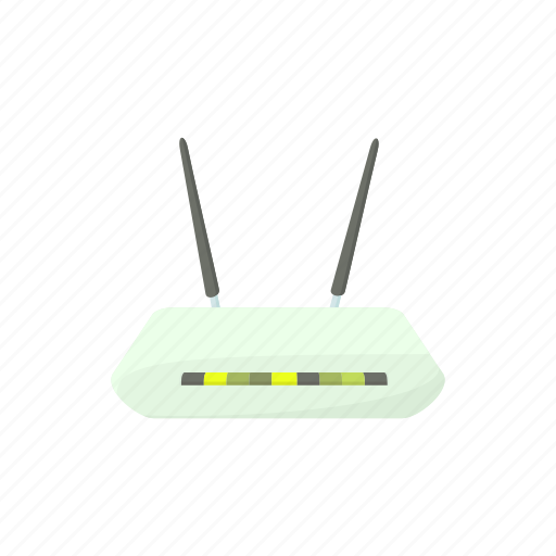 cartoon, communication, internet, router, technology, web, wireless icon
