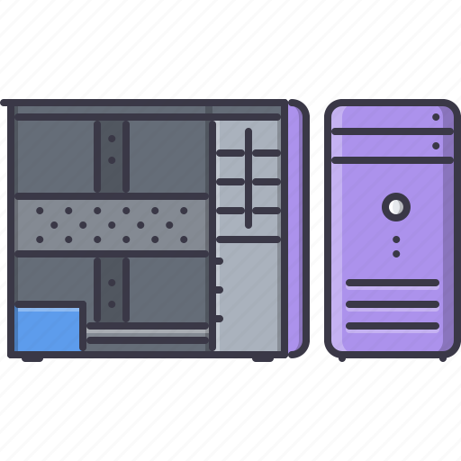 case, computer, data, information, technology icon