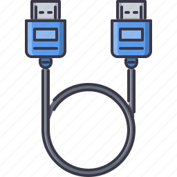 cable, computer, hdmi, technology, wire icon