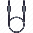 cable, computer, jack, technology, wire icon