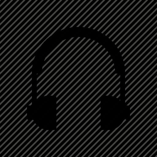 computer, device, digital, electronics, hardware, headphones icon