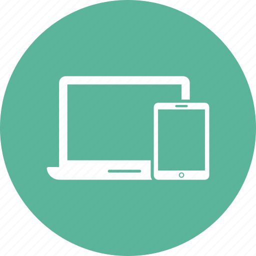 Devices, imac, ipad, iphone, laptop, monitor, respons icon - Download on Iconfinder