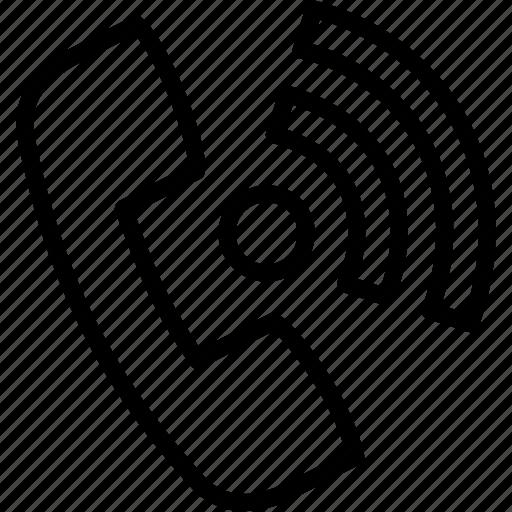 calling, communication, contact, landline, telephone, us icon