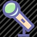 mic, microphone, music rec, recording, sound, speech icon