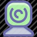 camera, camera device, web camera device, webcam icon