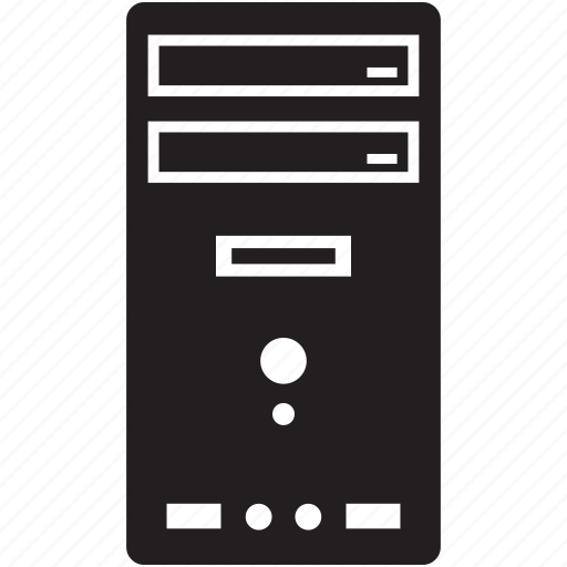 computer, enclosure, pc, system, unit icon