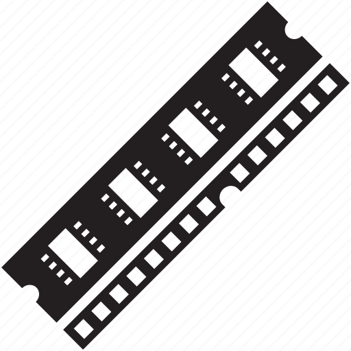 access, memory, ram, random, random access memory icon