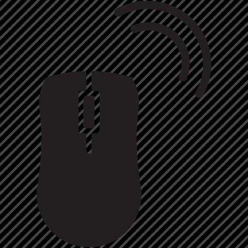 click, cursor, mouse, radio, wifi, wireless icon