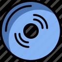 cd, dvd, technology, vinyl icon