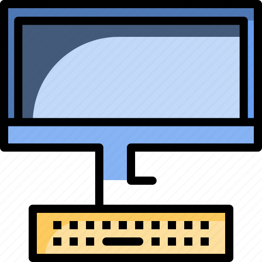 computer, hardware, office, pc, technology icon