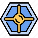 computer, cooling, fan, hardware icon