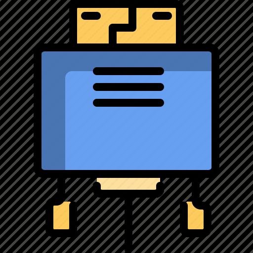 computer, hardware, hdmi, technology, vga icon
