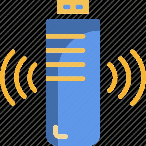bluetooth, drive, flash drive, storage, technology icon