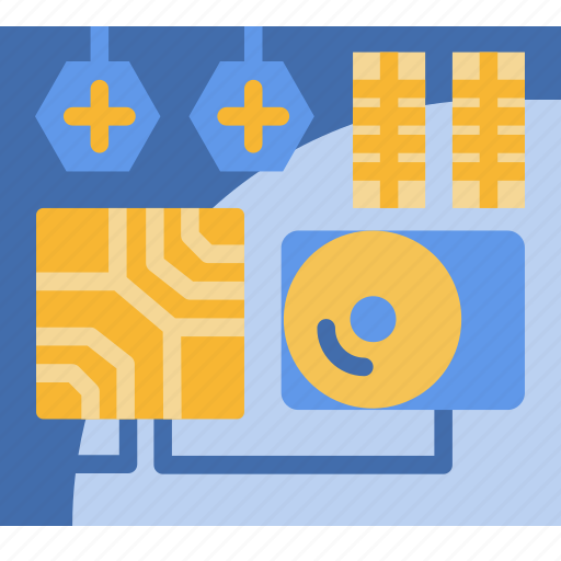 Computer, cpu, hardware, technology icon - Download on Iconfinder