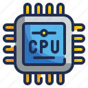 chip, cpu, memory, processor, ram icon