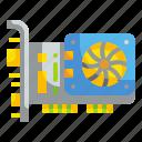 card, graphics, hardware, video icon