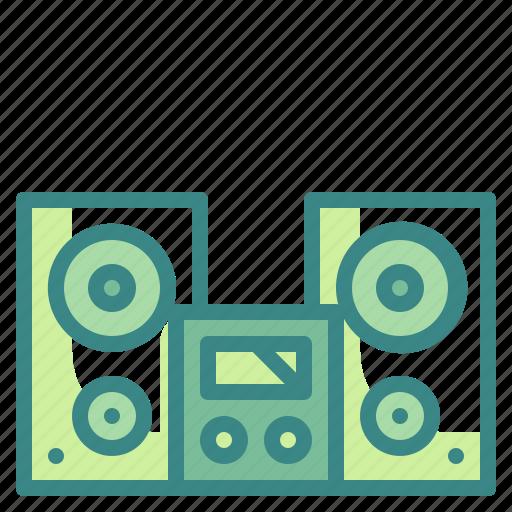 audio, electronic, sound, speaker, subwoofer icon