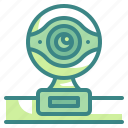 camera, chat, electronic, video, webcam icon