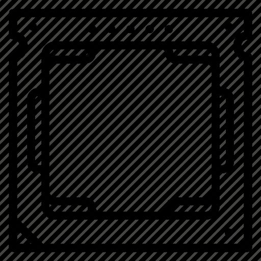computer, cpu, hardware, microchip, processor icon