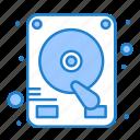 disk, drive, hard icon