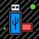 connection, port, usb icon