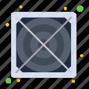 hardware, power, supply icon