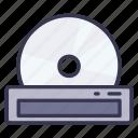disk, optical, drive, disc, hardware
