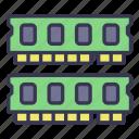 ram, memory, computer, technology, hardware