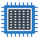 chip, cpu, gpu, hardware, processor icon