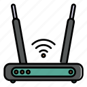 router, modem, wifi, connection