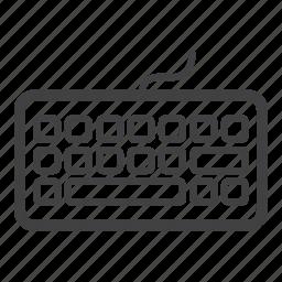 hardware, key pad, keyboard icon