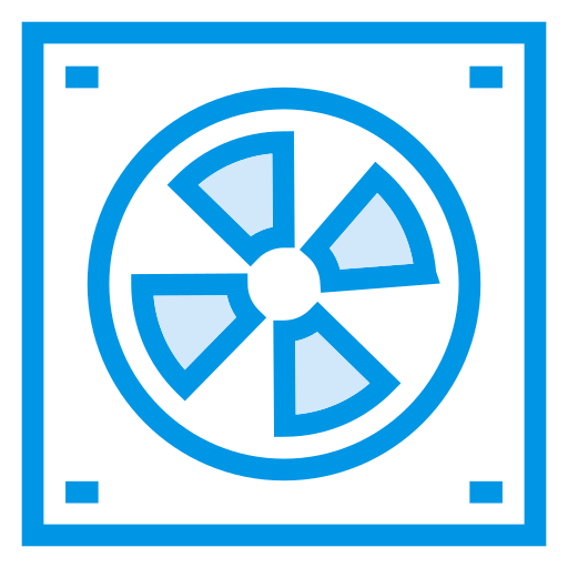 accessories, air, blower, database, hardware, professional, server icon