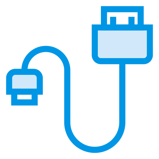 cable, cord, data, datacable, plug, usb, wire icon