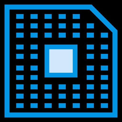 chip, computer, cpu, hardware, microchip, processor, processorchip icon