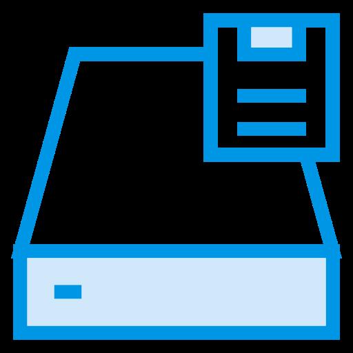computer, data, device, drive, floppy, hardware, storage icon