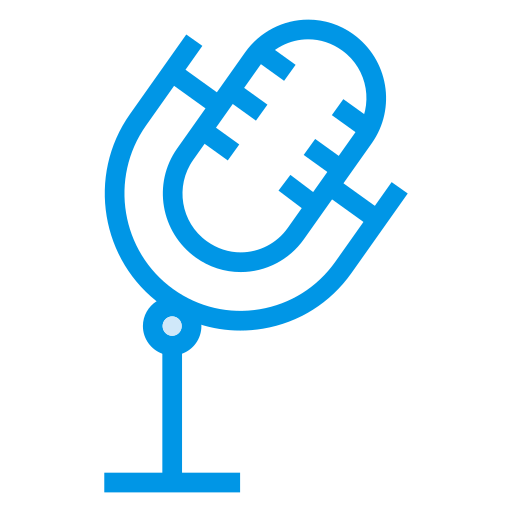 audio, conference, mic, microphone, record, sound, voice icon