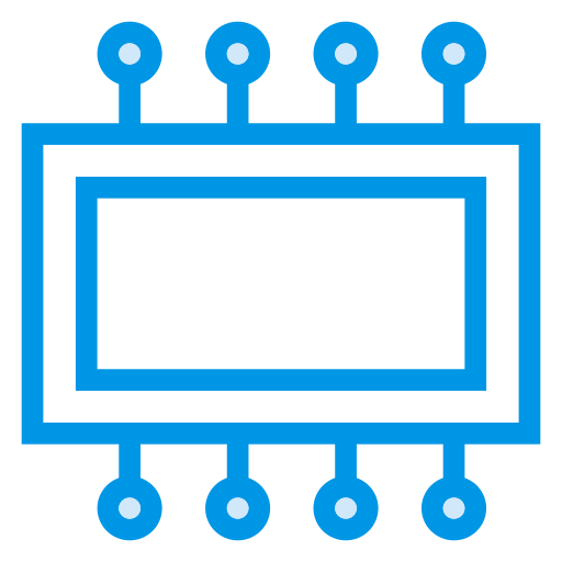 chip, computer, cpu, hardware, microchip, pc, proceesor icon