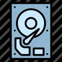 computer, hardisk, hardware, memory, storage icon
