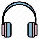 computer, device, hardware, headphone, headset icon