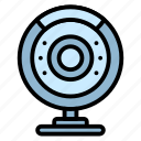camera, computer, hardware, video, webcam icon