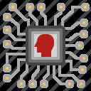 chip, computer, processor