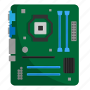 components, computer, hardware, motherboard