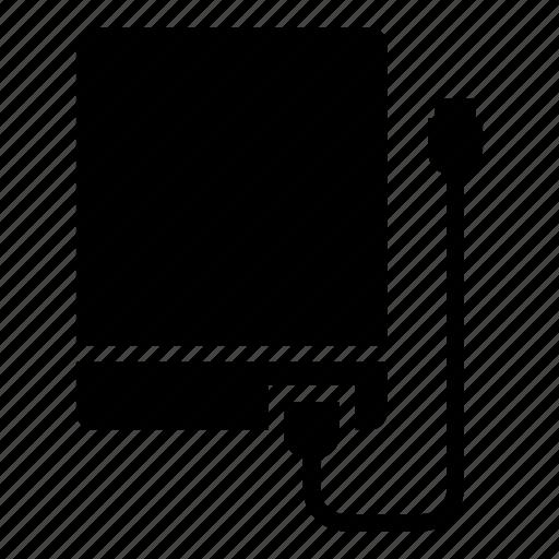 computer, eksternal, hardisk, hardrive, hardware icon