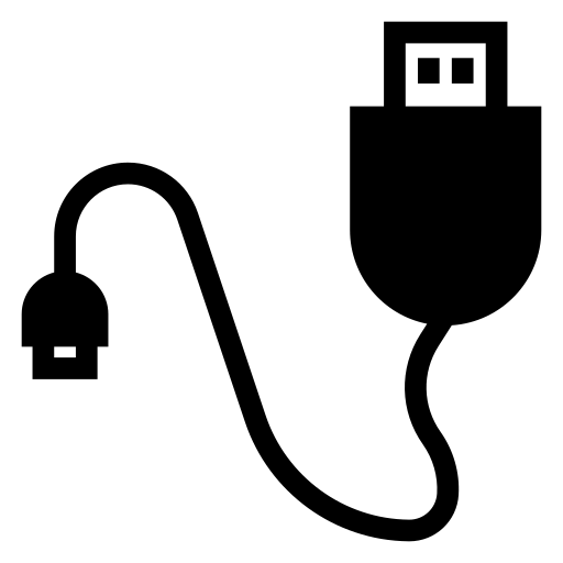 cable, computercable, data, datacable, transfer, usb, wire icon
